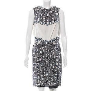 DVF Amami Loopy Grey Dress